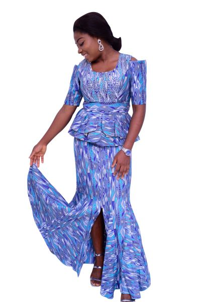 Style ATB2 Peplum Top & Skirt