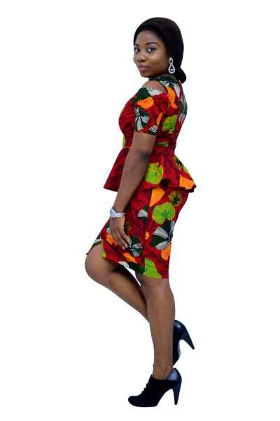 Style ATB1 Peplum Top & Skirt