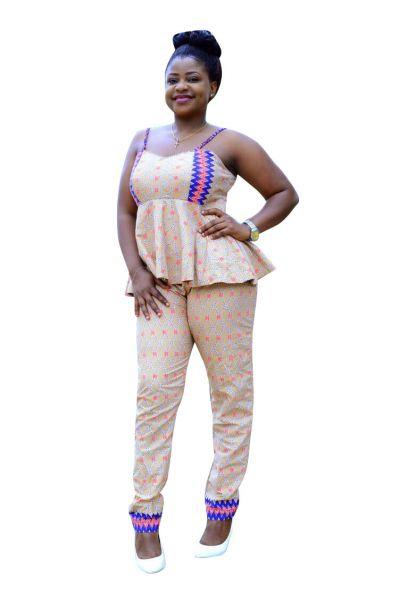 Style ATB4 Peplum Top & Pant