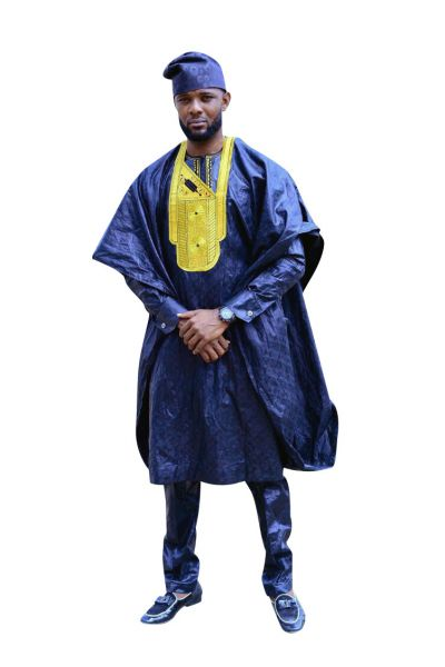 Style AG01 Agbada Outfit