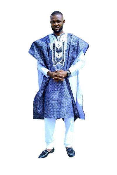 Style AG02 Agbada Outfit