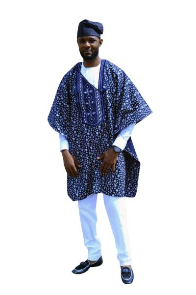 Style AG03 Agbada Outfit