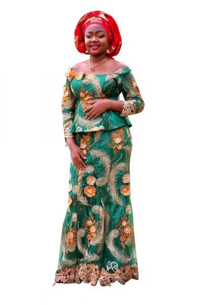 Style NTB2 Peplum Top & Skirt Set